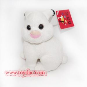 Plush Mini White Rabbit Key Ring Toy pictures & photos