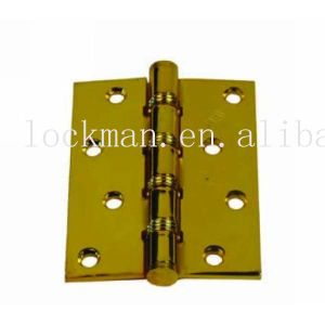 Competitive Polished Brass Plated Duty Hinge (SH-004) pictures & photos