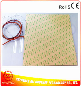 220V 1900W 960*690*1.5mm Silicone Rubber Heater for 3D Printer pictures & photos