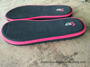 casual EVA Slipper with Printing Logo in PVC Strap pictures & photos