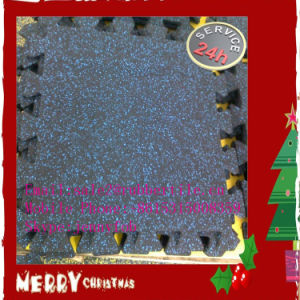 Outdoor Playground Puzzle Rubber Floor Mat, Rubber Tiles pictures & photos