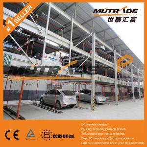 Automatic Lift Slide Platform Puzzle Parking Structure pictures & photos