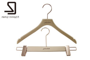 European Wooden Clothes Hanger pictures & photos