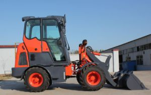Yineng Mini Wheel Loader Yn910g 20kw Cabin Euro 3 0.5 Cbm pictures & photos