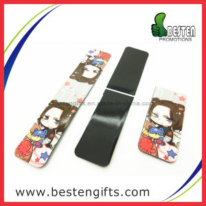 Popular Folding Magnetic Paper Fridge Magnet, Bookmark for Magazine (FM0003)
