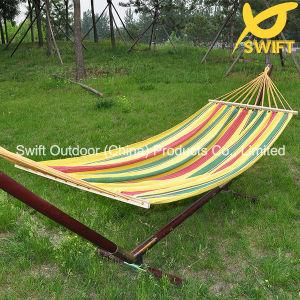 Best Leisure Poolside Cotton Canvas Hammock