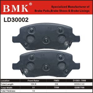 Advanced Quality Brake Pads (LD30002) pictures & photos