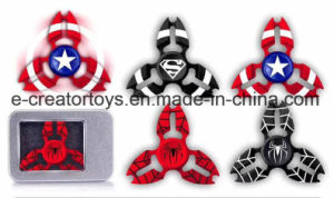 Wholesale 2017 Hot Selling Long-Time Rotating Fidget Spinner Finger Spinner Toy pictures & photos