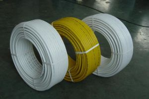 Welded Pex-Al-Pex (aluminuim plastic) Pipe with Red, Yellow White Blue Color pictures & photos