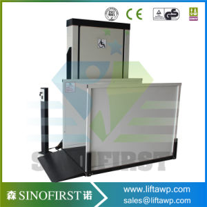 2m Home Use Vertical Stair Disable Lift Table pictures & photos