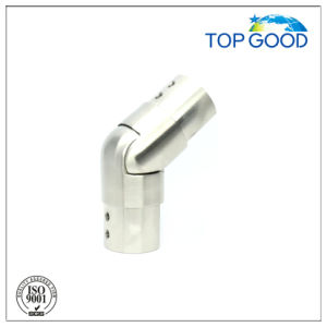 Stainless Steel Flexible/ Adjustable Downward Slot Tube Connector (53131) pictures & photos