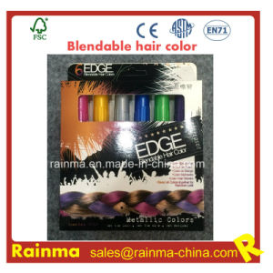 Glitter Temporary Instant Blendable Pastel Hair Color Pen for All Hair Types pictures & photos