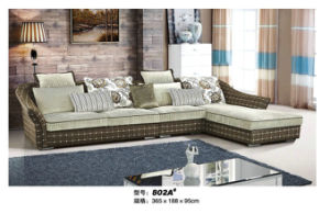 High Quality Fabric Sofa for Living Room (802A) pictures & photos