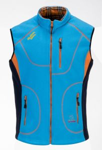 Fleece Men′s Waterproof Vest pictures & photos