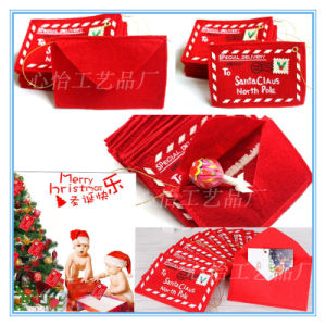 Christmas Decoration Christmas Tree Hang Non-Woven Fabric Envelopes pictures & photos