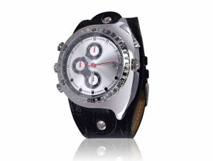 Waterproof Mini Camera Watch 1080p Security Video Motion Detection Night Vision 4GB-16GB (QT-IRM003) pictures & photos