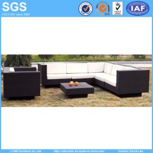 High Quality Garden Furniture Cube Set Outdoor Rattan Sofa pictures & photos