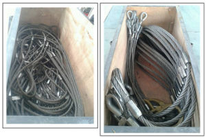 Galvanized Steel Cable Wire Rope Sling for Drawing pictures & photos