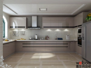 Welbom 2015 Contemporary Design Polyurethane Kitchen Cabients pictures & photos