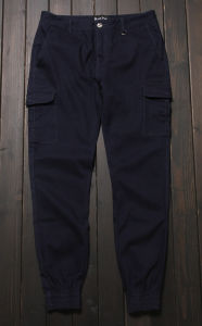 Casual Joggers Pants Big Pockets Plain Trousers pictures & photos