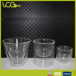 High Borosilicate Double Wall Glass Exported to Europe Market