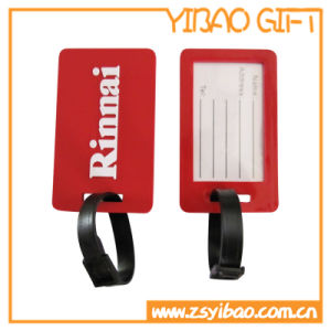 Soft PVC Luggage Tag with Custom Embossed Logo (YB-SM-02) pictures & photos