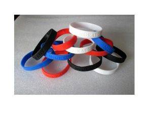 Promotional Gifts Printing Logo Silicone Band pictures & photos