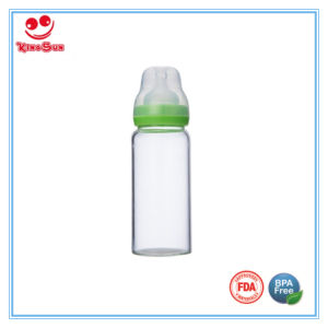 Wide Neck Glass Baby Bottles for Feeding Babies pictures & photos