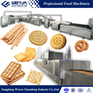 Wenva Full Automatic Biscuit Bakery Machine pictures & photos