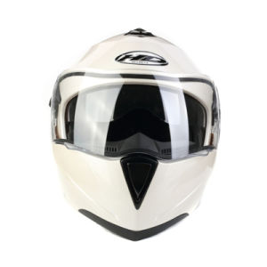 Double Visor Flip up Style Motorcycle Helmet (AH008) pictures & photos
