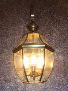 Pw-19033 Copper Wall Light with Glass Decorative pictures & photos