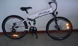 26′′ Foldable Electric Bike White pictures & photos
