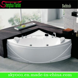 New Hot Corner Whirlpool Hydro Massage Bathtub (TL-326) pictures & photos