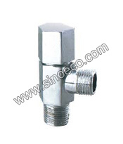 Brass Chrome Plated Angle Valve with Reduced Screw pictures & photos
