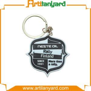 Hot Sale 2D Fashion PVC Keychain pictures & photos