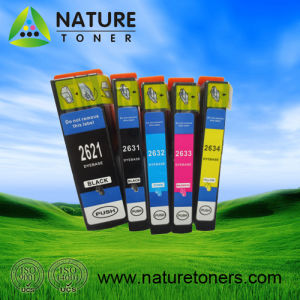 Compatible Ink Cartridge 2621, 2631, 2632, 2633, 2634 for Epson Printer XP-500/600/605/700/800 pictures & photos