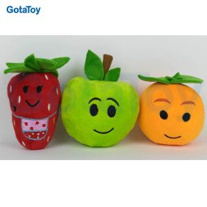 High Quality Custom Plush Cherry and Pear Stuffed Soft Toy pictures & photos