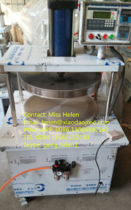 Thin Dough Bread Press Machine / Pan Cake Press Machine pictures & photos