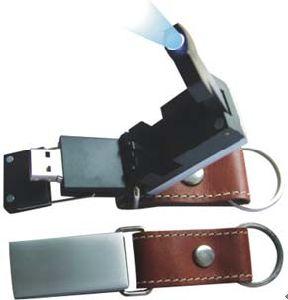 Leather USB Memory 1GB/2GB/4GB/8GB/16GB pictures & photos