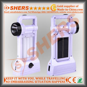 24 LED Solar Camping Lantern with 1W Flashlight, USB (SH-1971A) pictures & photos