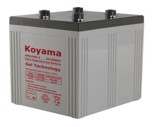 2V Stationary Gel Battery -2V1500AH for Power Plant pictures & photos