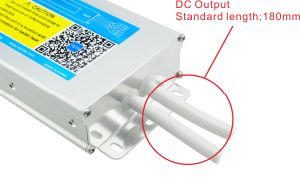 Hyrite LED Switching Mode Power Supply IP67 Slim Waterproof Outdoor Constant Voltage LED Driver with Ce pictures & photos