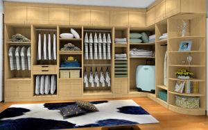 Melamine Walk-in Closet Wardrobe (zy-037) pictures & photos