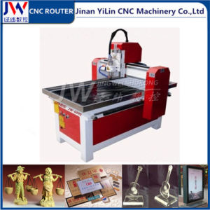 6090 Mini CNC Router for Soft Metal Mould Advertising Acrylic PVC pictures & photos