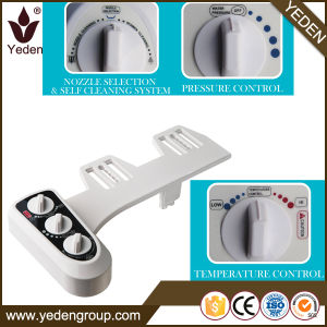 Non Electrical Dual Cleaning Nozzle Hot and Cold Water Bidet