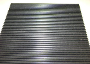 Corrugated Rubber Mat, Fine Ribbed Rubber Sheet, Rubber Rolls for Flooring pictures & photos
