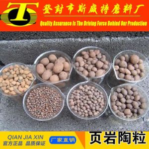 Water Resistant Materials 2-4mm Natural Ceramsite / Ceramsite Sand pictures & photos