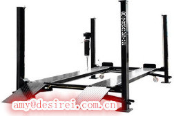 Ce Four Post One Cylinder Hydraulic Car Parking Lifter/Car Parking Lift