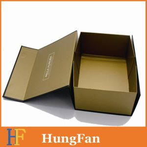 Easy Stock Paper Gift Foldable Paper Box/ Foldable Box/Foldable Packaging Box for Cosmetic Packaging Box. Perfume Packaging Box. Garment Packaging Box pictures & photos