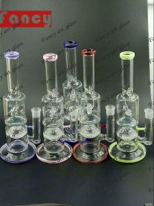 Newest Design 12inch Glass Smoking Water Pipe with Rotating Fan pictures & photos